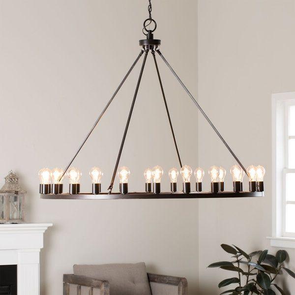 liam oil rubbed bronze 24light chandelier