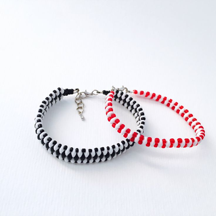 New item on my Etsy shop https://www.etsy.com/listing/452507098/superduo-beads-bracelet