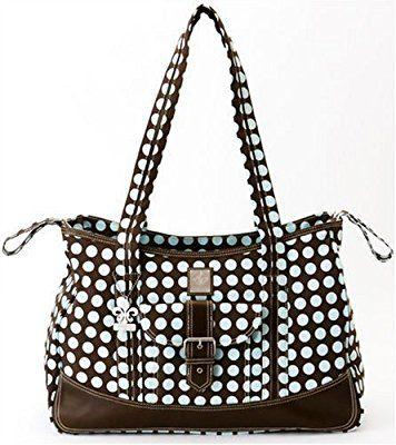Kalencom Week-Ender Bag, Heavenly Dots Cafe Au Lait