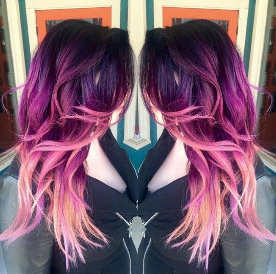 25 best ideas about pink hair highlights on pinterest