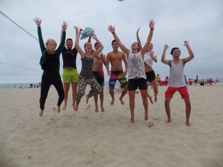 Vôlei de praia em Copa