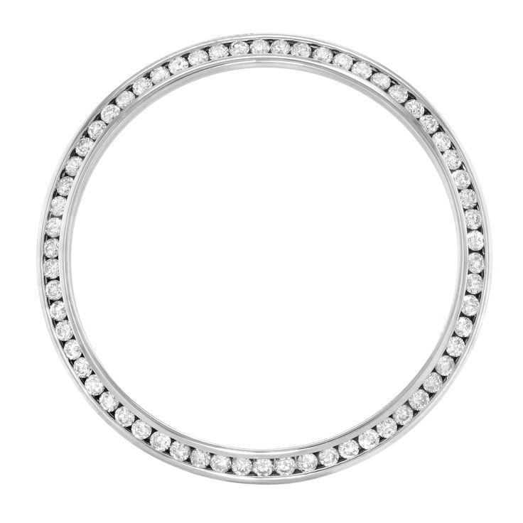 1.25 Cttw Diamonds Custom Bezel For 36mm Men's Rolex Datejust Models