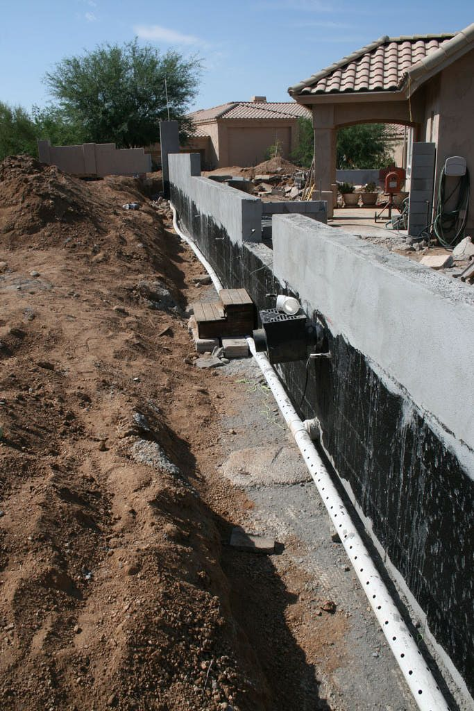 1000 ideas about french drain system on pinterest yard for Fix drainage in yard