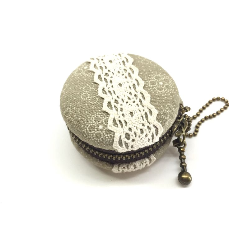 A personal favorite from my Etsy shop https://www.etsy.com/listing/491780057/5-cm-macaron-coin-purse-jewelry-case