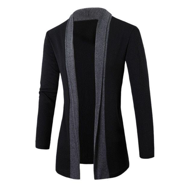 Men jacket winter jackets mens clothing trench coat sweater