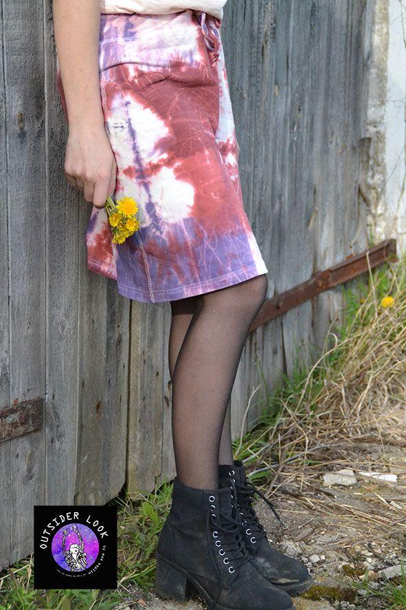 tie-dye, shibori, skirt.