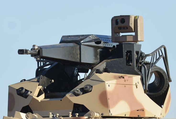 Denel Mechatronics | Denel Vehicle Systems. Tactical remote turret (TRT). Close-up View!