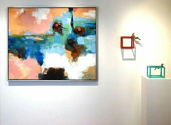Benjamin Torcal pictures and Artigasplanas sculptures. Gallerie Rasmus,Denmark.
