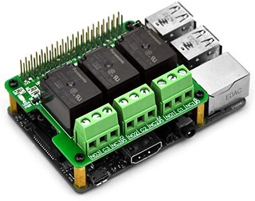 Amazon com: Electronics-Salon RPi Power Relay Board
