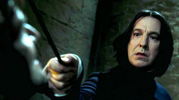 Severus Piton. Alan Rickman. Sempre <3