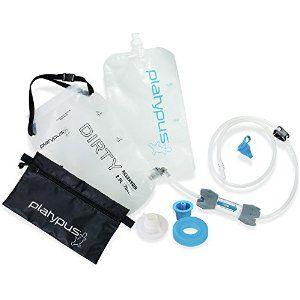 11. A no pump Water Filter.