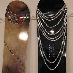 ... Crystal Encrusted Nidecker Snowboards - Getoutdoors.com Outdoor Blog