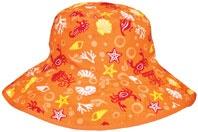 Tidal Orange Reversible sunhat, $29.99 - two sunhats in one!
