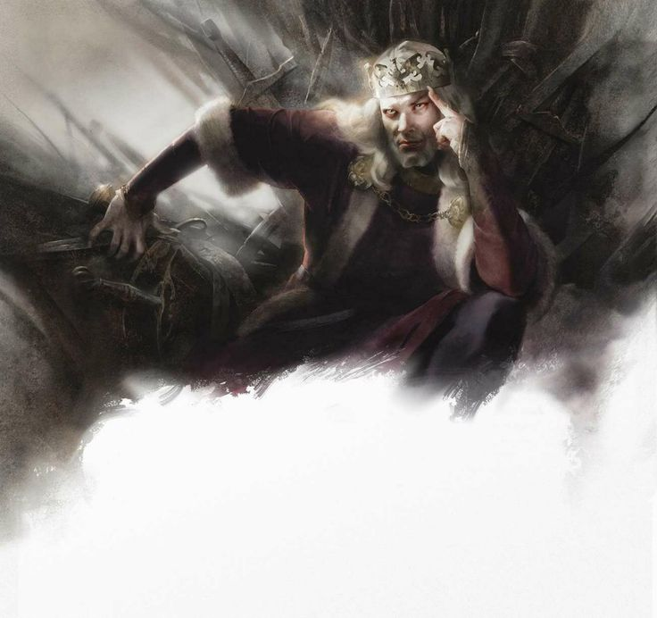 """Aerys II Targaryen - More commonly known as """"The Mad King"""""""