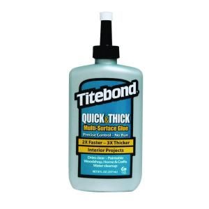 Titebond 8 oz. Quick & Thick Multi-Surface Glue (12-Pack) 2403 at The Home Depot - Mobile