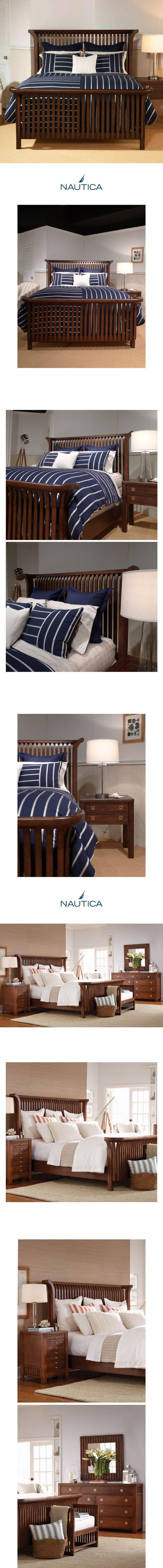상품 상세보기 : 침대1 - Nautica 135 King Panel Bed (침대+협탁+화장대) ~#1 Selling in Florida / Ocean Life~