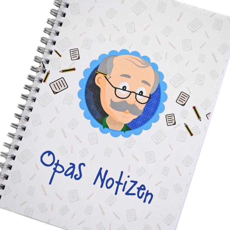 Notizbuch Opa, Opas Notizen, Geschenk Opa, Bester Opa, Geschenk Großvater