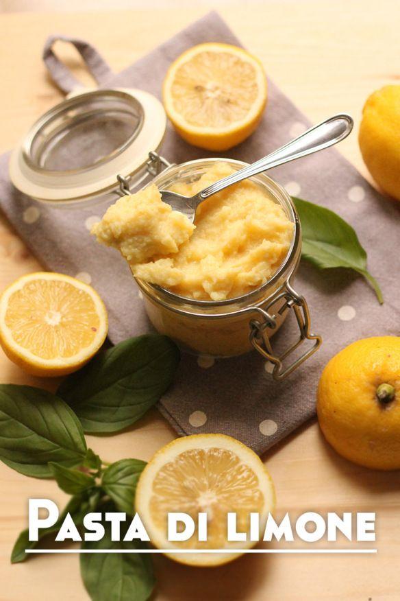 Pasta di limone pronta per essere gustata