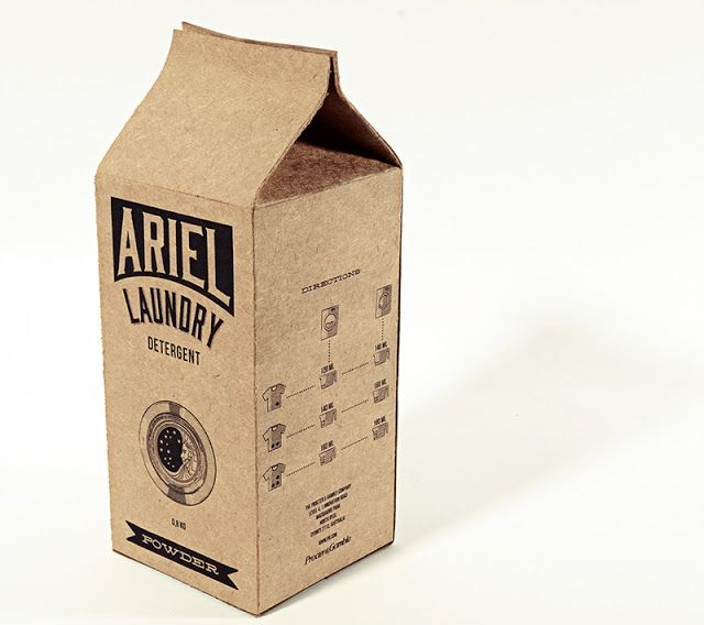 Ariel Laundry Detergent (Student Project) on Packaging of the World - Creative Package Design Gallery