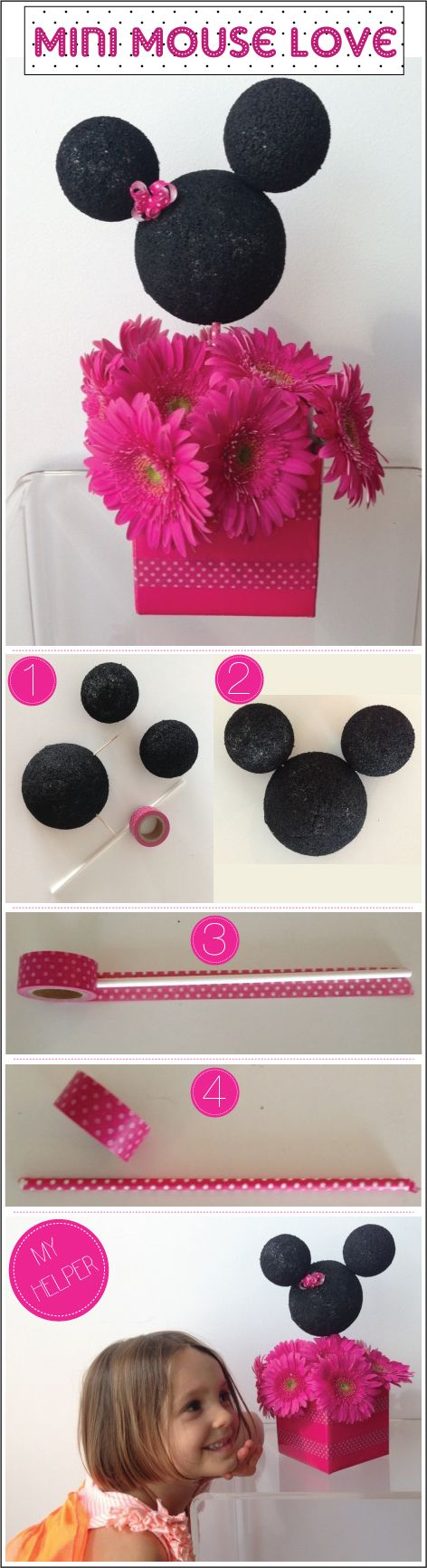 How-to-Make-a-Mini-Mouse-Centerpiece