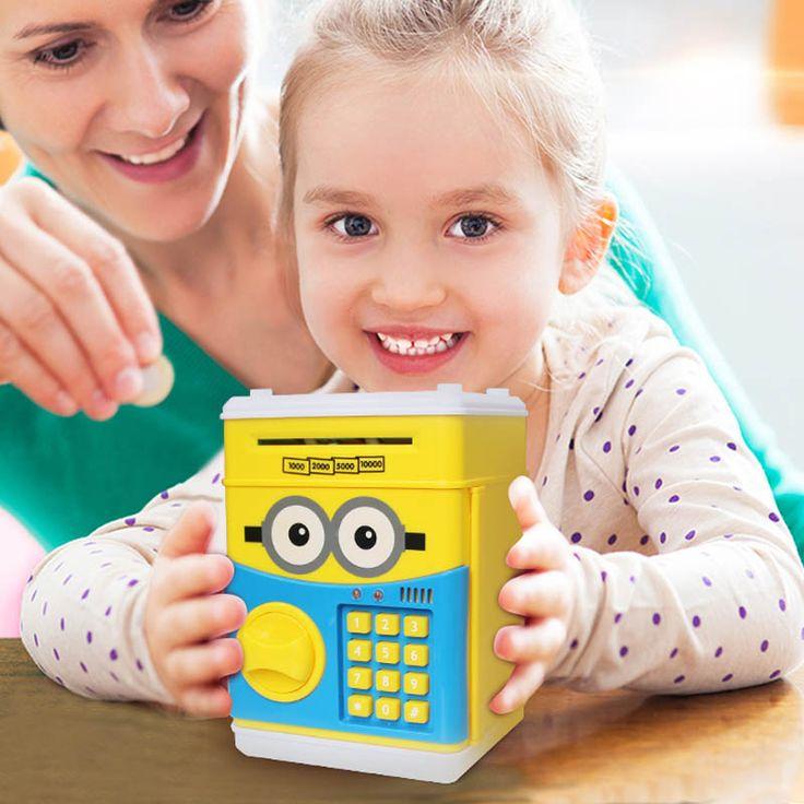Piggy Bank Mini ATM Machine for Kids.  Shop Online- http://www.couponndeal.com/coupon/piggy-bank-mini-atm-machine-for-kids