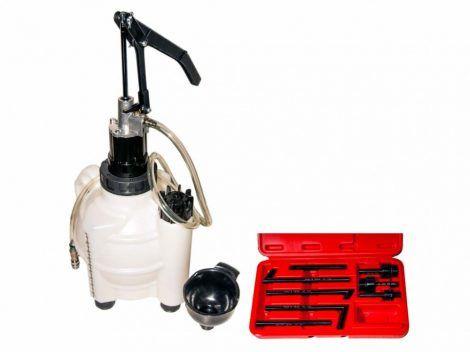 Váltóolaj feltöltő pumpa
