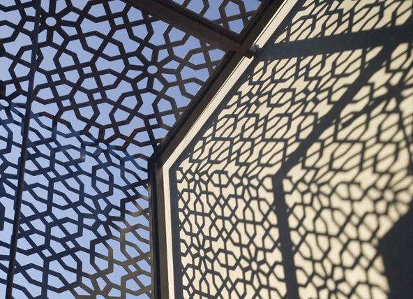 Moorish steel screen 2400x1200h $1265