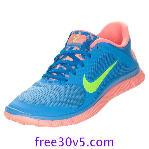 freerun40.net for Half off Nike Frees,Nike Free 4.0 V3 Womens Distance Blue Atomic Pink Lime 580406 463