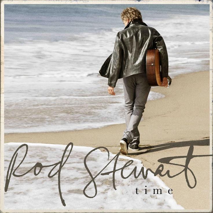 album cover art: rod stewart - time [05/2013]
