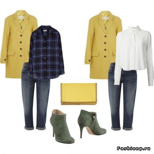 Осенний гардероб в теплых тонах