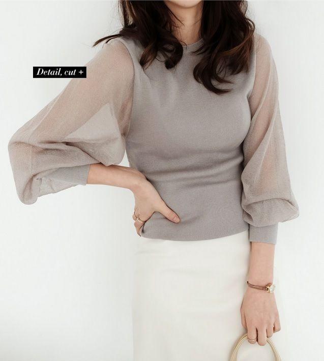 大人の女性らしい、ふんわりバルーンスリーブ ニット★ w257 シースルー袖が、ちょっぴりセクシーさをプラス。 女性らしいバルーンスリーブのボリューム袖がポイント。 今季トレンドの バルーン袖 コンシャススタイル。 ソフトなニット生地で、着心地も◎ 春までご着用頂けます。   ♪♪ 【 出品商品一覧】をクリックすると、 より多くの商品をご覧いただけます♪♪    ★お取引についてを必ずご覧ください。 ★発送までに3〜7日ほどお時間をいただきます。(土曜日曜を除く) ★発送について 〔A〕小型包装物(発送から7〜15日)追跡なし 〔B〕EMS(発送から3〜5日)追跡あり  ★ノーブランドの海外製品は、日本製に比べ縫製などが少々劣る場合がございます。 また、元々タグや洗濯表示がないものがございますので、予めご了承ください。   ★ご質問等がございましたら、お気軽にご連絡ください。
