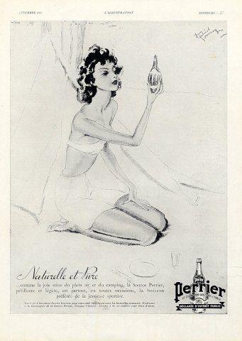 Perrier (Water) 1936 Domergue