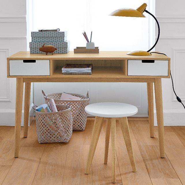 Jimi Vintage Desk La Redoute Interieurs | La Redoute Mobile