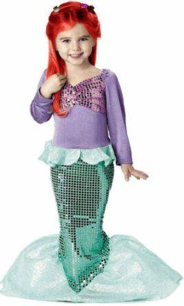 ## VERY Cute ##: Child's Toddler Mermaid Halloween Costume (3-4T)