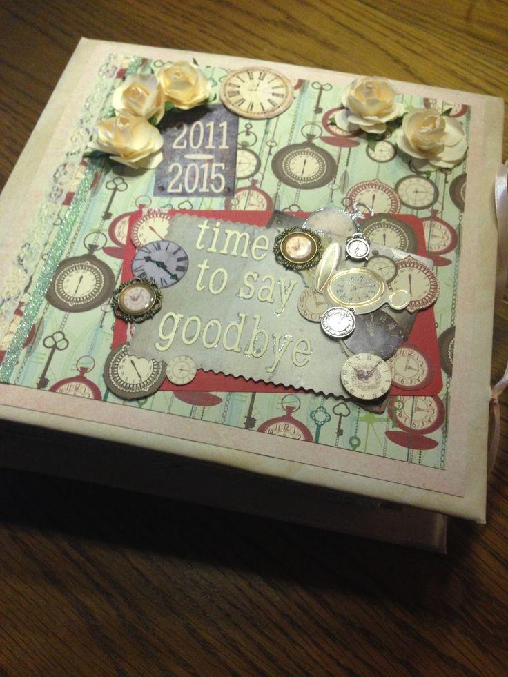 Scrapbook, Abschiedsalbum für die Lehrerin, Abschiedsgeschenk Grundschule, Abschied Schule