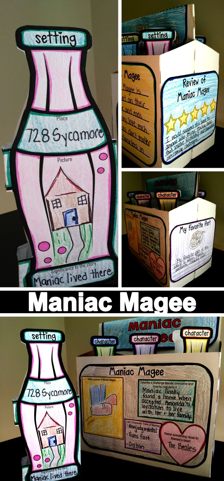 Maniac Magee by Jerry Spinelli  Novel Project