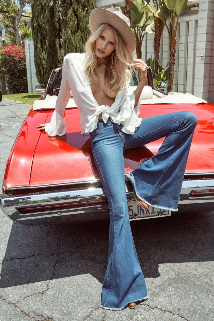 Alena Blohm stars in Free People's June 2015 lookbook