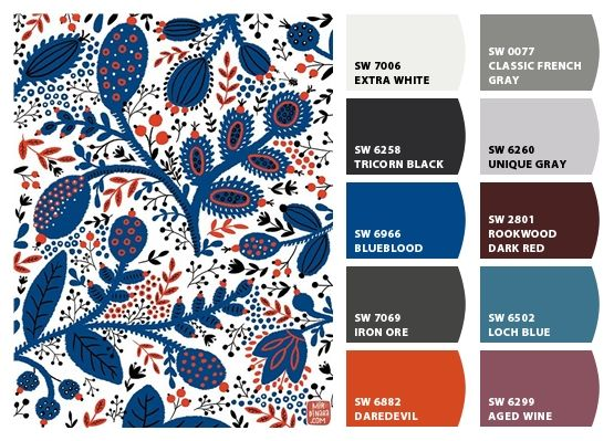 Color Palette Inspiration Chip It By Sherwin Williams
