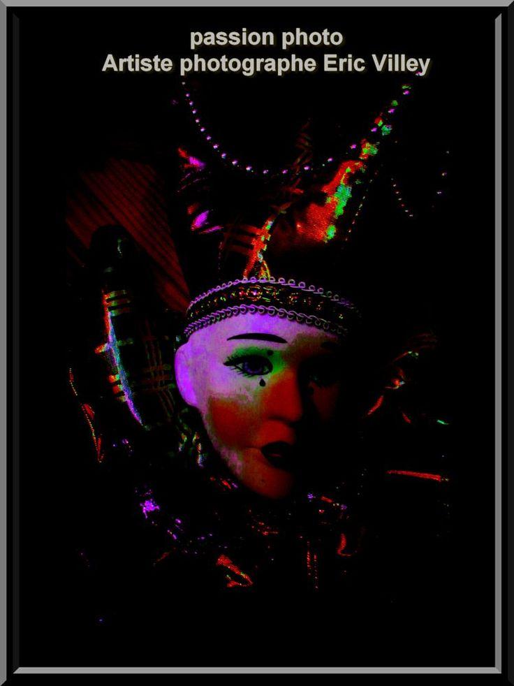 shoot masque....special by Artiste photographe -ERIC VILLEY