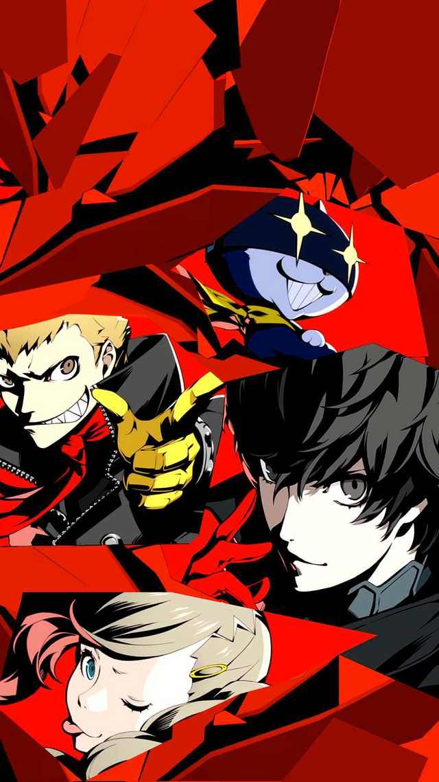Image Couldn T Find A Mobile Version Of The Persona 5 All Out Attack Image So Made My Own Persona 5 Joker Persona 5 Persona 5 Anime