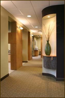 Division Of Rooms Rounded Corner With Shelf For Art Washington State Dental And