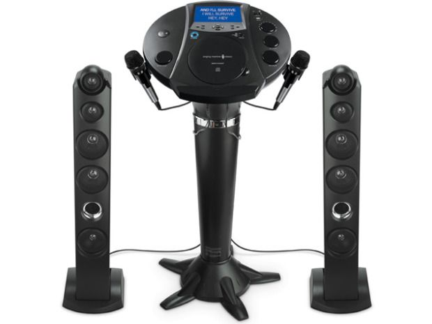 Singing Machine Bluetooth Pedestal Karaoke System