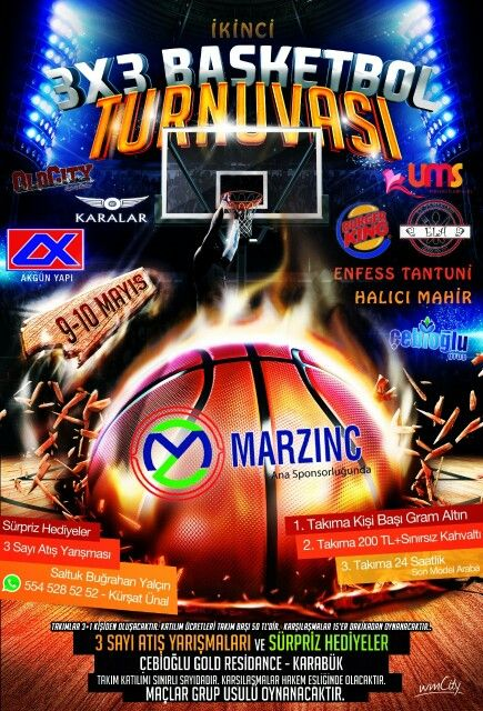 Basketball Tournament l A3 Flyer  Bol sponsorlu olanından :)