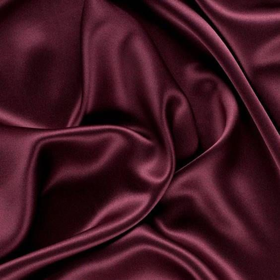 5 yards BURGUNDY Charmeuse Satin Fabric 60 Description The bridal satin is a lux…