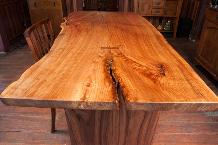 live edge table natural live edge woodwork pinterest live edge table bows and tables. Black Bedroom Furniture Sets. Home Design Ideas