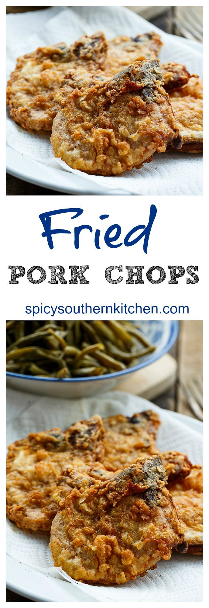 Southern Fried Pork Chops - so simple and so delicious!