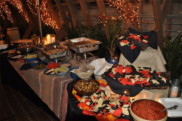 Fajita Buffet Party Time Pinterest Receptions Home