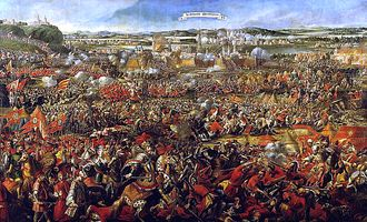 """TIL that the largest cavalry charge in history occurred in 1683 during the Turkish siege of Vienna. An force of 18,000 Polish and German Cavalrymen charged the Turkish line and inflicted over 40,000 casualties, completely routing the Turks. The Polish king later said """"I came, I saw, God conquered"""""""