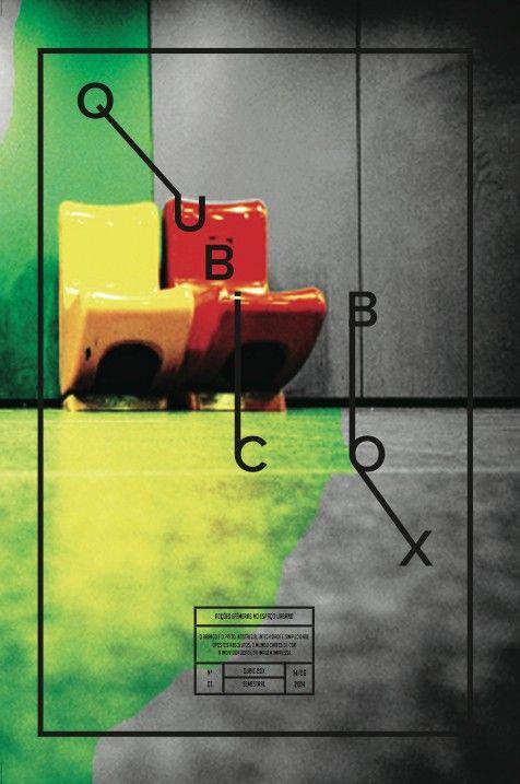 Projecto académico Esad Matosinhos 2013 Qubic Box Acções efémeras no espaço urbano by Joana Rajão