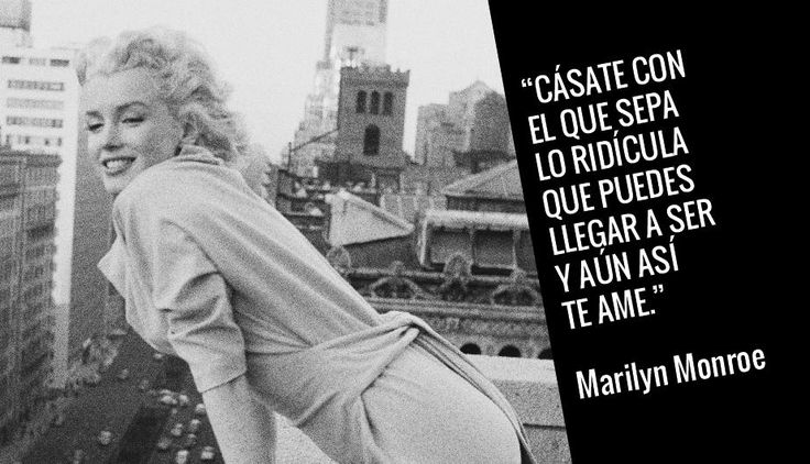 15 frases de la provocadora e inmortal Marilyn Monroe